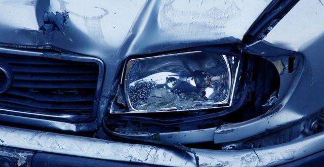 véhicule accidenté